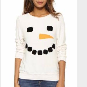 Wildfox Snowman Sweater